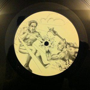 D.Evilman Ftg Paranorm - The God vs The Devil (12 Vinyl Single) - Record