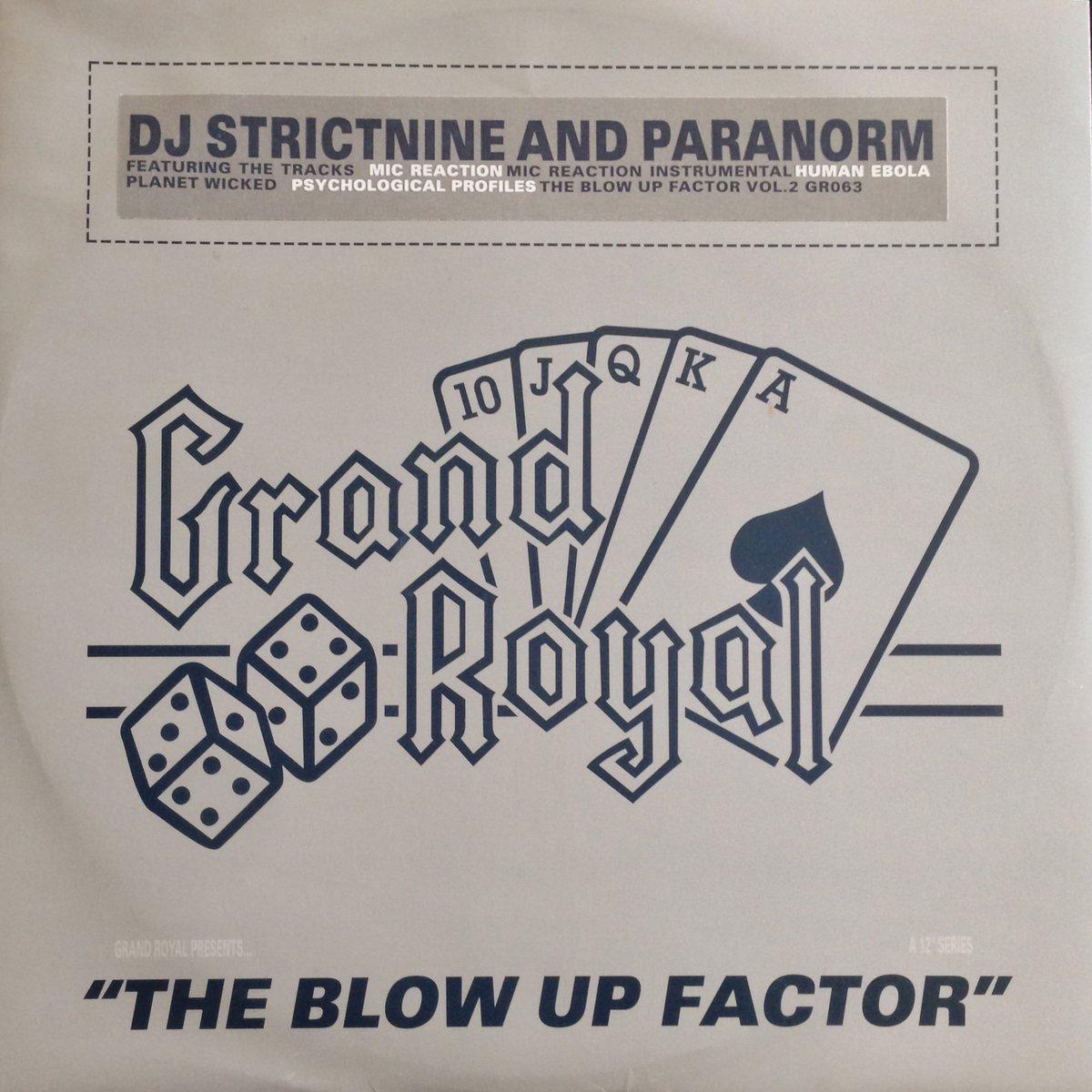 Dj Strictnine and Paranorm Mic Reaction Vinyl